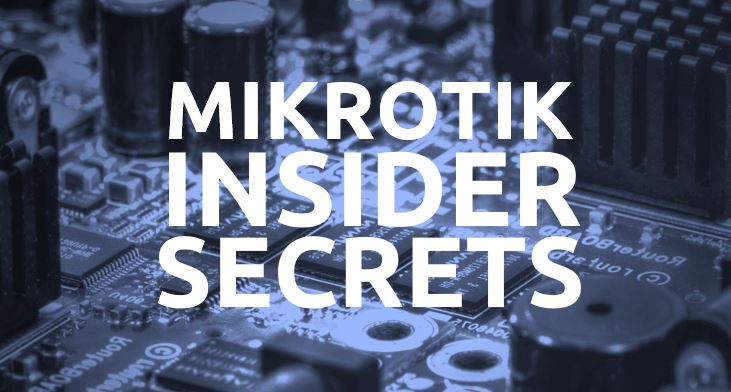 Mikrotik expert Hani Rahrouh offers tips and tricks