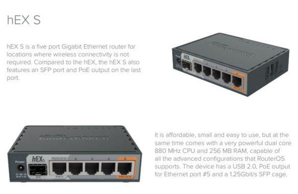 Wireless Netware introduces the MikroTik Hex S