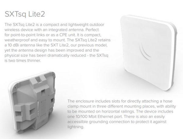 MikroTik SXTsq Lite2 by Wireless Netware